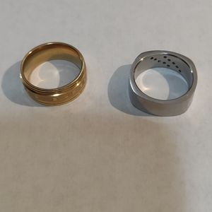 Ring's 2 piece stainless steel